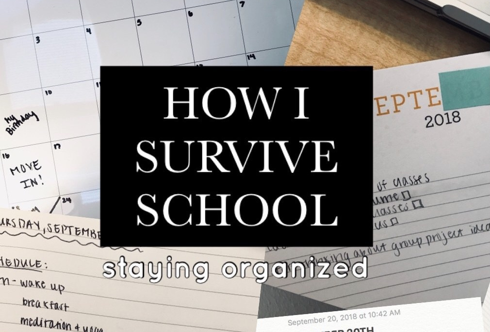 How I Survive School: Staying Organized